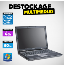 DELL D630 CORE 2 DUO 2 GHZ 320GO 2GB WINDOWS 7 PRO OU XP AVEC RS232C BATTERIE NEUVE