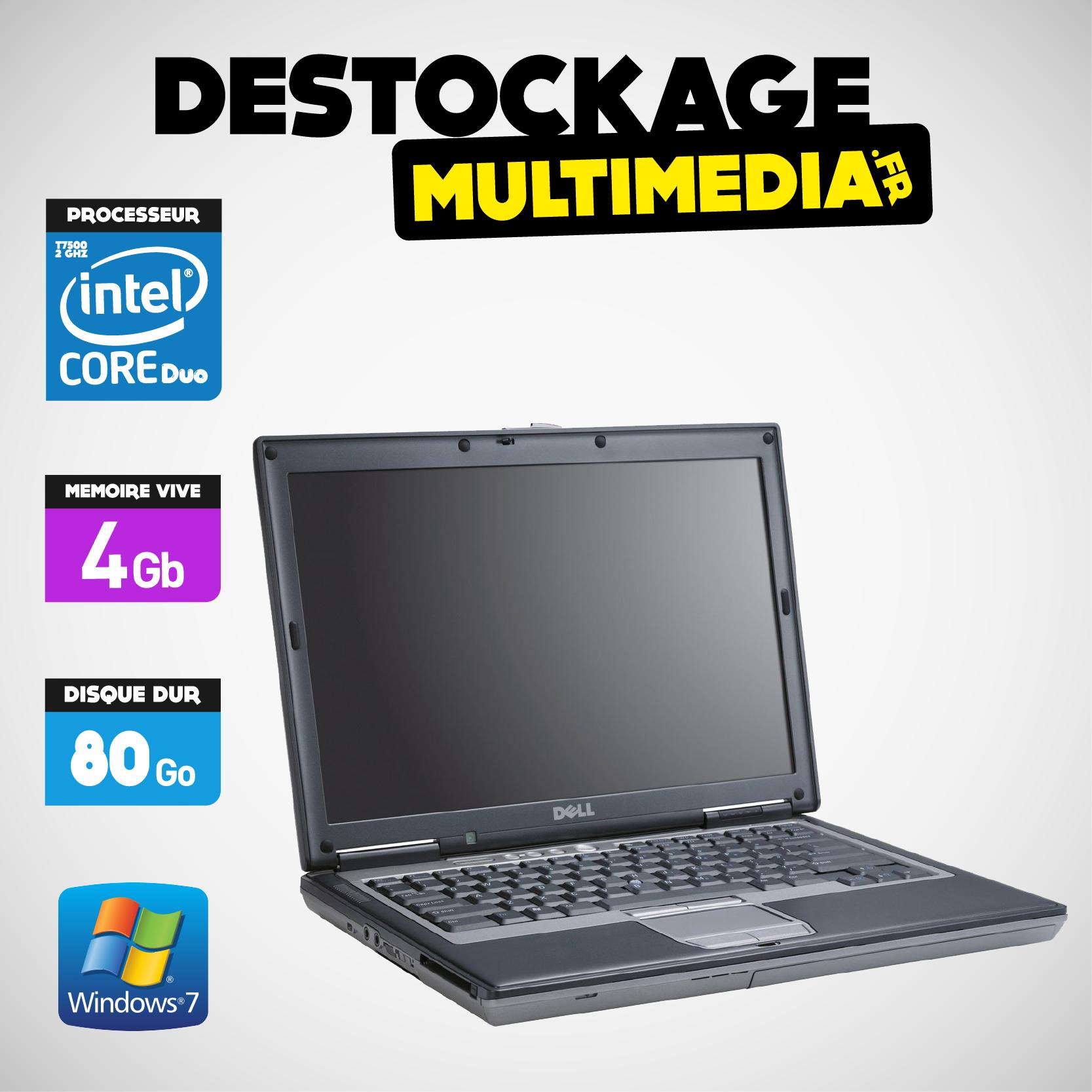 Dell D630 Core 2 Duo 2 Ghz 320go 2gb