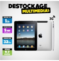 Lot de 10 iPad 4 Retina 32 Go 3g Noir