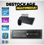 HP Elite Pro 4000 sff E5800 3.2GHz 4GB 2500GB DVDRW WIN 7 PRO