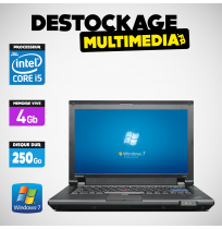 Lenovo ThinkPad L412 Core i5 M560 2.67Ghz 4gb 250Go Windows 7 Web Cam Word Excel