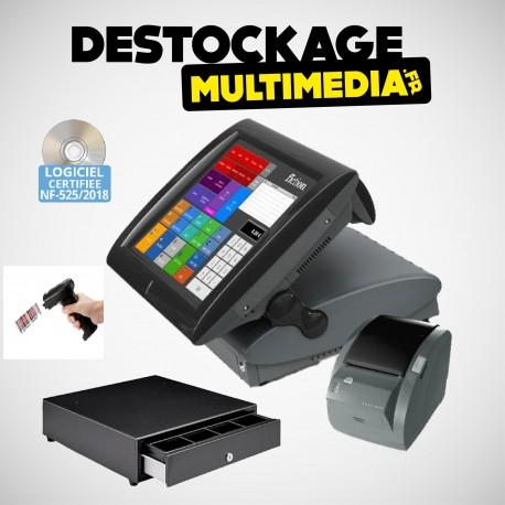 Pack Caisse Enregistreuse Tactile Posligne Odysse Tout Commerce