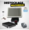 Pack Caisse Enregistreuse Tactile DEVELYS tous commerces Avec Logiciel NF 525