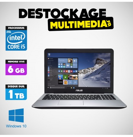 "Asus X75VC-TY187H 17.3""Core i5 Ivy Bridge 6 GB 1 TO WINDOWS 10 GT 720M"
