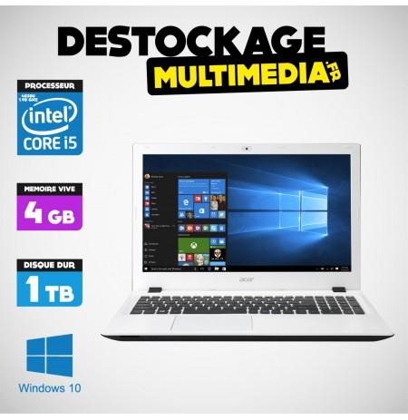 "Acer Aspire V3 1.9GHz i3-4030U 13.3""4Gb 1To Win 10 Garantie 1 An"