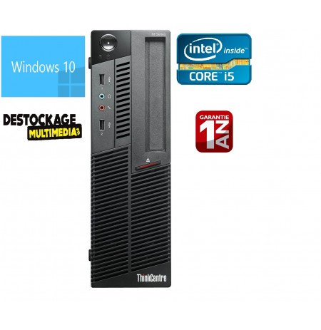 Lenovo thinkcentre m90p sff-Core i5 - 4gb - 250gb-Graveur DVD-windows 7pro64-Word-Excel-Antivirus