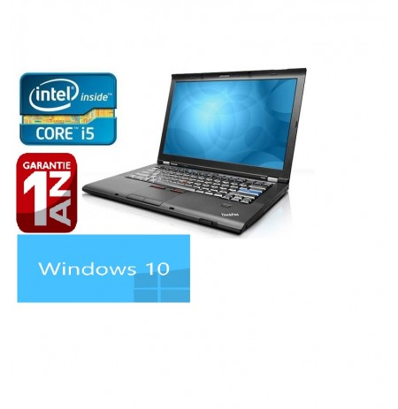 Lenovo ThinkPad T410 Core i5 2.4 ghz 4gb 250 go Dvdrw Win 7 pro ou Xp pro