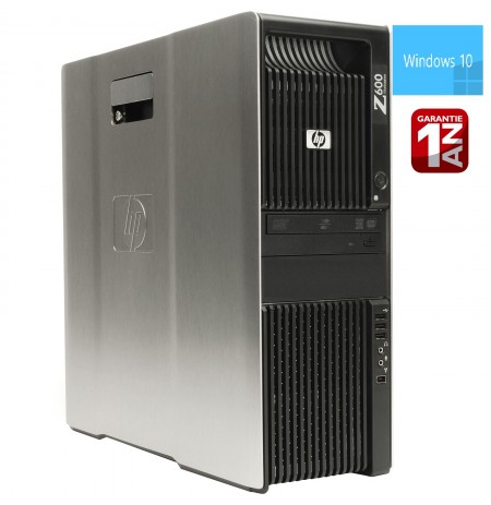 HP Z600 Workstation Bi Xeon Quad Core X5620 Ram 49GB +SSD 128GB +HDD 2TB +Quadro 4000 WIN 7 PRO