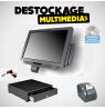 Pack Caisse Enregistreuse Tactile ibm Toshiba AnyPlace Kiosk 4838-710 15 pouces Avec Logiciel Normes 2018