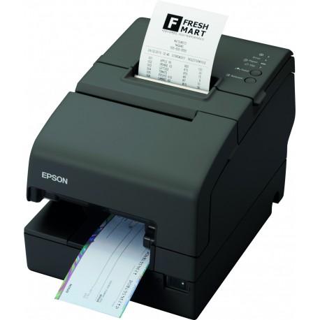Imprimante Thermique Ticket Epson TM-H6000IV 033 Usb Série Lecteur de chèque