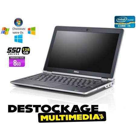 Dell Latitude e6230 Core i5 3340m 2.6ghz 8gb 128gb ssd webcam win xp 7 10