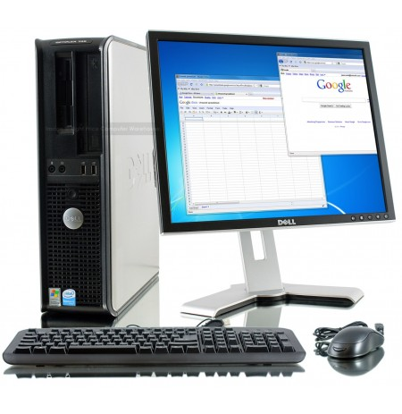 Dell Optiplex 755 SFF Desktop Core 2 duo E2180 2Ghz 2gb 80go Dvd Win 7 ou XP Garantie 6 mois