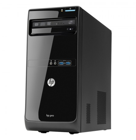 HP Pro 3500 Intel Core i3-3220 4Go 500 Go Graveur DVDRW Windows 7 Professionnel 64 bits ou Windows 10