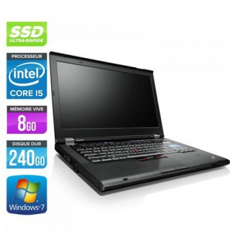 Lenovo T420 - Core i5 2520M-2,5 GHz - 4Go RAM - 3200Go - Windows 10 home Ou 7