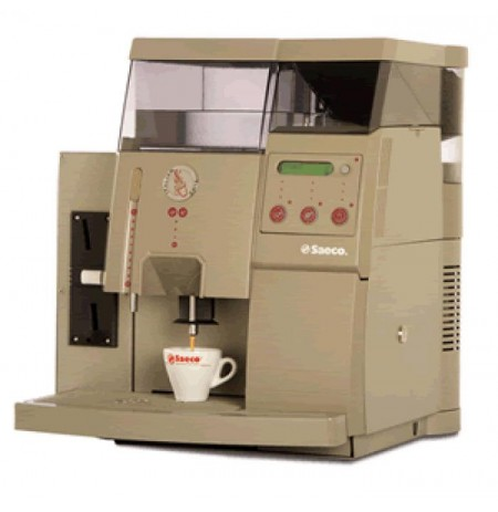 Machine à Café à grains Saeco Royal Office Ambra avec monnayeur révision 2017 ok