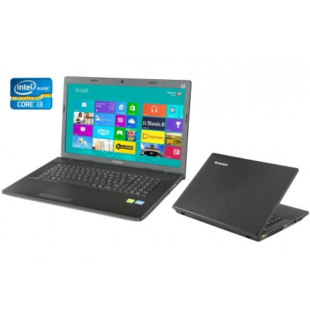 "Lenovo G700 17.3"" Core i3-3110M (2.4GHz - 3.GHz), 4GB RAM, 500GO, DVDRW, Intel HD 4000, Windows 8 ou 10 Garantie 1 An"