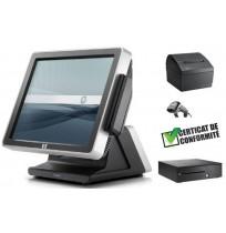PACK CAISSE ENREGISTREUSE TACTILE HP RP7 7800 DISQUE DUR SSD TOUS COMMERCES