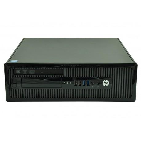 HP ProDesk 400 Intel Core i3 4130 3,4 GHz 500 Go 4 Gb Intel HD4400 Windows 7 Pro