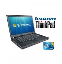 LENOVO THINKPAD T61 CORE 2 DUO 1.8GHZ 2 GB 120 GO DVDRW WINDOWS 7 PRO