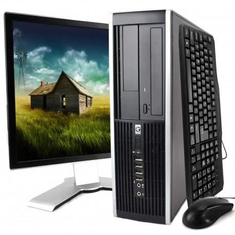 HP Compaq 6200 Pro - Pentium G630 2.7 GHz - 4 Go - 250 Go-Dvdrw-Windows-7-pro-Garantie-1-an