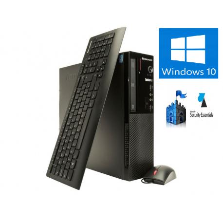 LENOVO E73 SSF INTEL PENTIUM G3240 3.1GHZ 4GB 250 GO DVDRW WINDOWS 10