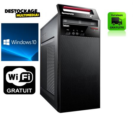 Lenovo E71 INTEL G630 2.7 GHZ 4 GB 250 GO DVDRW WINDOWS 10