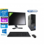 Pc Complet Dell Optiplex 790 Avec Ecran 20 pouces DELL core i3 2120 3.3GHZ 4Go 500Go (Neuf) Windows 7 ou 10 Word Excel Wifi