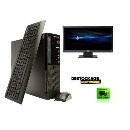LENOVO E73 SSF INTEL PENTIUM G3240 3.1GHZ 4GB 500 GO DVDRW WINDOWS 10 ECRAN 17 POUCES CLAVIER SOURIS