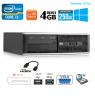 PC HP Compaq 6300 SFF I3-3220 RAM-3.3-GHZ 4Go Disque 250Go Graveur DVD Wifi Windows 10