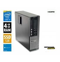 Dell OptiPlex 3010 Core i3-3225 3,3 GHz - 128 Ssd Go RAM 4 Go - Wifi Hdmi Windows 10 pro