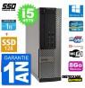 PC DELL OPTIPLEX 7020 SFF INTEL CORE I5 4570 RAM 8GO SSD 128 GO 1000 GO HDD WIFI RS232 WINDOWS 10