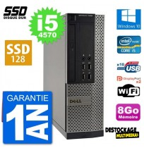 Pc Dell optiplex 7020 sff intel core i5 4570 ram 8go 128 go Ssd wifi rs232 windows 10