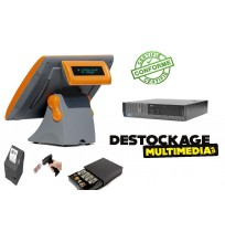 Pack Caisse Enregistreuse Tactile Dell core i5 Ecran Aures Avec Logiciel Au Norme