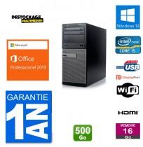 DELL Optiplex 3020 Core i5-4590 500 go 16 gb Windows 10 Office business 2019