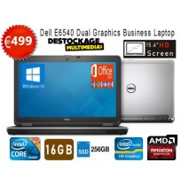 DELL LATITUDE E6540 Core i7 4810mq 240 ssd 16 gb Amd radeon 8790m Windows 10 pro Office 2019 plus