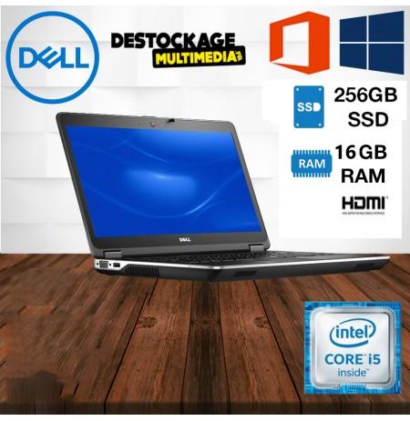 Dell Latitude E6440 - Core i5 4310M - 2.7 GHz - Win 10 Pro 64 bits - 8 Go RAM - 500 Go SSD - graveur de DVD - 14 hd