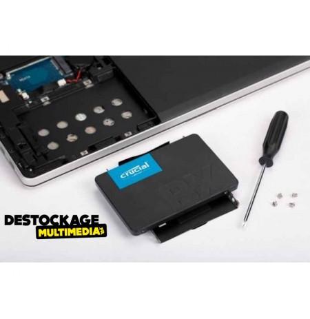 Disque dur ssd Crucial BX500 120 Go Série ATA III 2.5inch CT120BX500SSD1