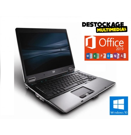 Hp Probook 6530B 14 Pouces Core 2 Duo 2,26 GHz - HDD 320 Go RAM 4 Go AZERTY Windows 10 reconditionné Garantie 1 an