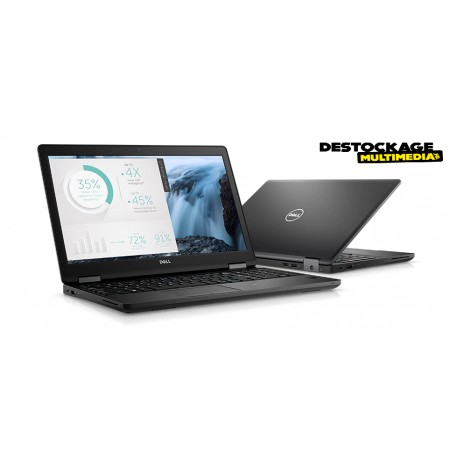 Dell Latitude 5580 Core i7 7820HQ 2,9 GHz Win 10 Pro 64 bits 16 Go de RAM 256 Go SSD 15,6 Full HD GF 940MX Office 2019