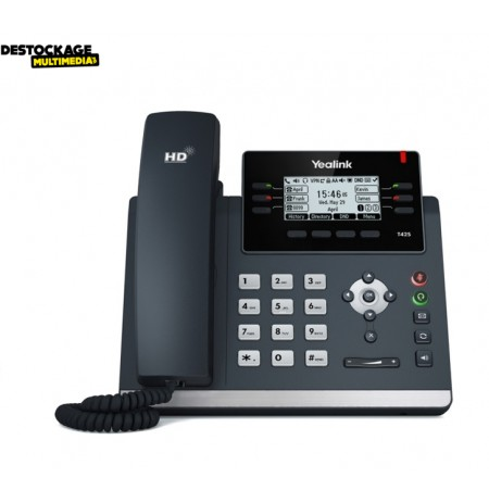 TELEPHONE IP YEALINK T42S GIGABIT