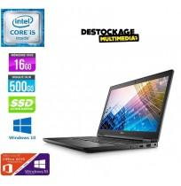 """DELL Latitude 5590 - Core i5-8250U - RAM 16 Go - 512 Go SSD - 15.6"""" FHD"""