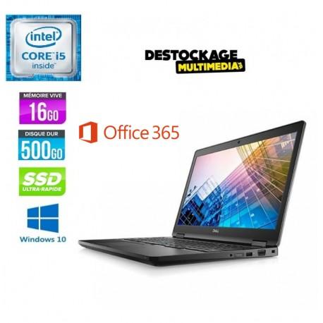 dell-latitude-e5580-core-i5- Full hd-16gb-256ssd-Win10-Office2019