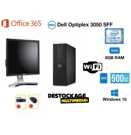 Dell-optiplex-3050-core-i3-6100-3.7ghz-8gb-256-go-ssd-500-go-hdd-wifi-office365-windows-10-pro
