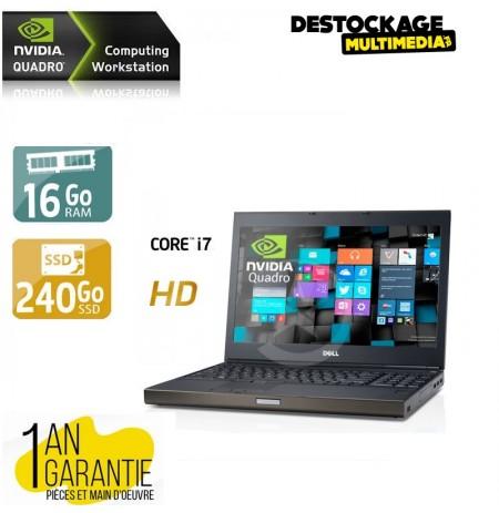 Dell Precision M4600 Core i7 Workstation 16gb 256ssd Nvidia fx quadro 2000 hd dvdrw Windows 10 64 Bits